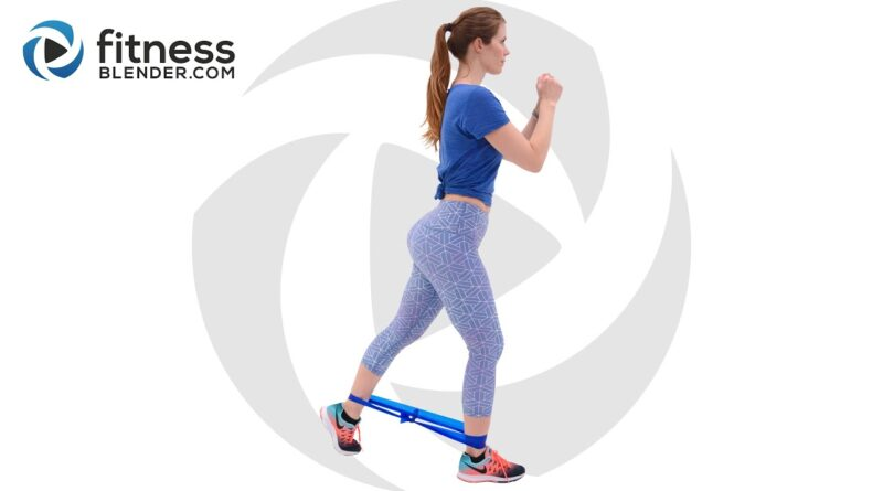 Glute Activation Workout with Bands – Knee Friendly Butt and Thigh Workout