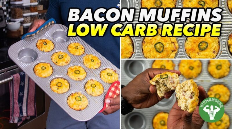 Meal Prep – Low Carb Cheddar Bacon Muffins